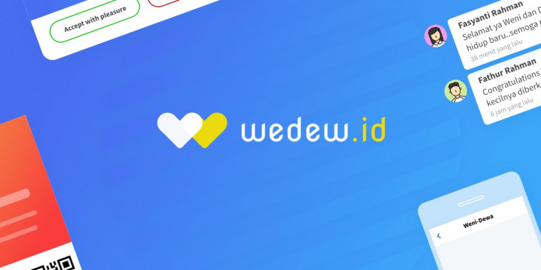 Wedew.id: Pioneer Wedding E-Invitation untuk Pernikahanmu