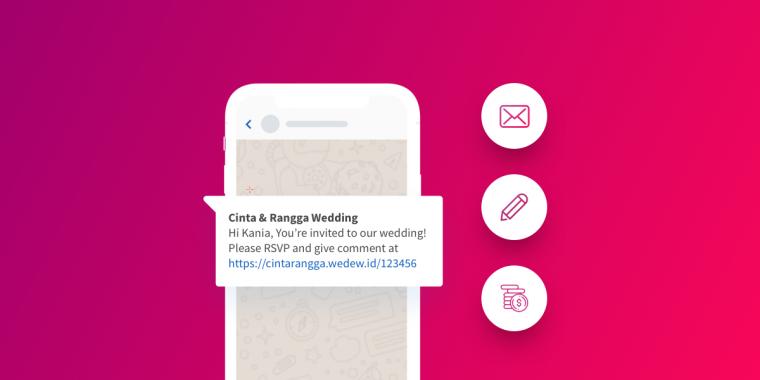 Kelebihan Undangan Personalisasi Menggunakan WhatsApp bagi Calon Pengantin