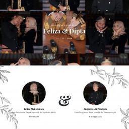 Undangan Pernikahan Feliza & Dipta