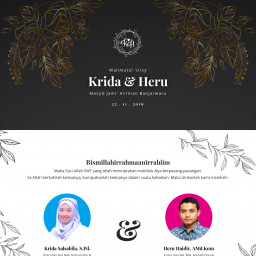 Syukuran Pernikahan Krida & Heru