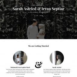Irvan Septiar & Sarah Astried