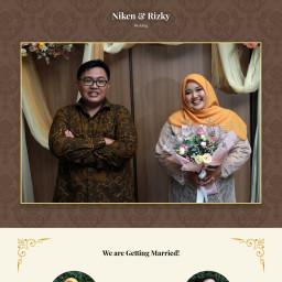 Undangan Pernikahan Niken & Rizky