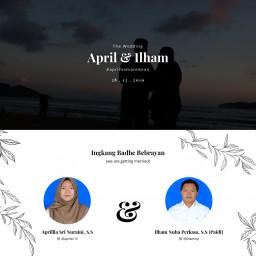 April & Ilham