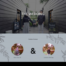 Rara & Deri Wedding Invitation