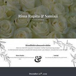 Rima Rupita & Samiaji Intimate Wedding