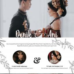 The Wedding of Denik & Ani