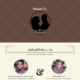 Walimatul 'Urs Fauqi & Indah