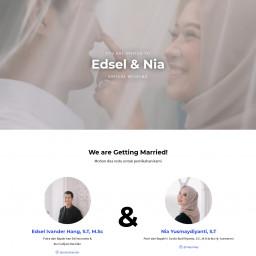 Nia Edsel Wedding
