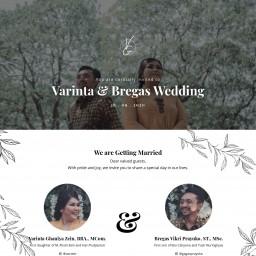 Varinta & Bregas Wedding Invitation