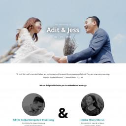 The Wedding of Adit & Jess