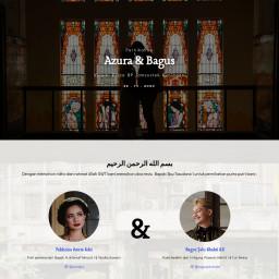 The Wedding Of Azura & Bagus