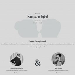 The Wedding Of Ressya & Iqbal
