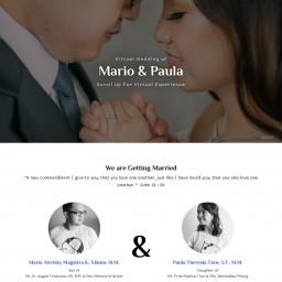 The Wedding of Mario and Paula