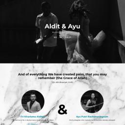 Aldit & Ayu