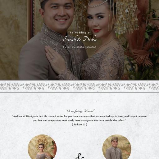 Sarah & Diska Wedding