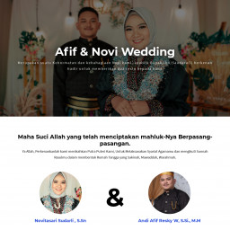 Afif & Novi