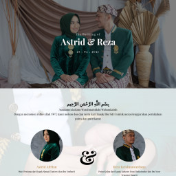 The Wedding of Astrid & Reza