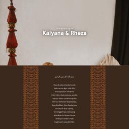 Resepsi Pernikahan Kalyana & Rheza