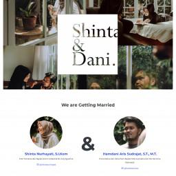 The Wedding of Shinta & Dani