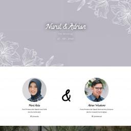Nurul & Adrian - Wedding