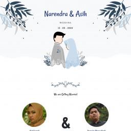 The Wedding of Narendra & Asih