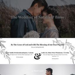 The Wedding of Natalia & Bimo