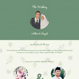 Astrie & Irsyad Wedding Invitation