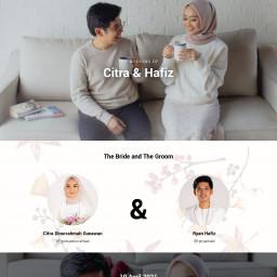 The Wedding of Citra & Hafiz