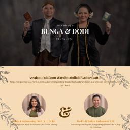 The Wedding of Bunga & Dodi