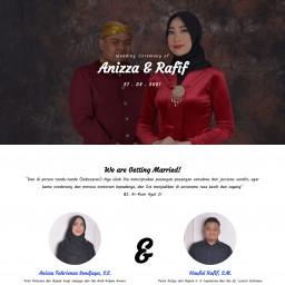 The Wedding of Anizza & Rafif