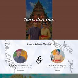 Wedding Invitation Nara dan Eka