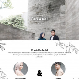 The Wedding of Tiara and Aidil