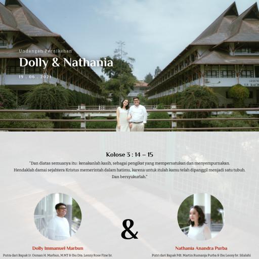 Undangan Pernikahan Dolly & Nathania