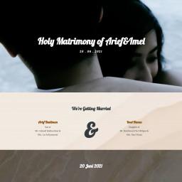 Holy Matrimony of Arief&Imel