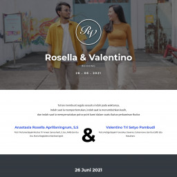 Rosella & Valentino Wedding