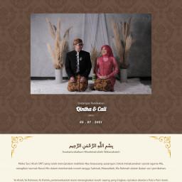 Pernikahan Qintha & Cali
