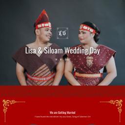 Lisa & Siloam Wedding Day