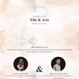 Walimatul 'Urs Ella & Aris