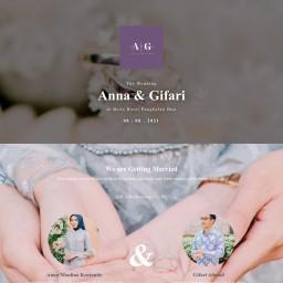 The Wedding of Anna & Gifari