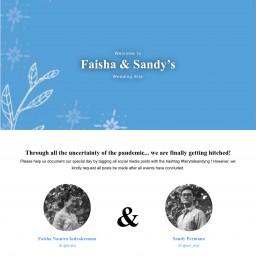 Faisha & Sandy Wedding