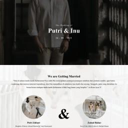 The Wedding of Putri & Inu