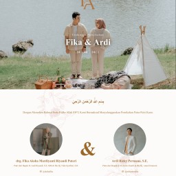 Undangan Pernikahan Fika & Ardi