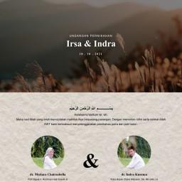 Pernikahan Irsa & Indra