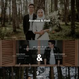 Annisaa & Hadi