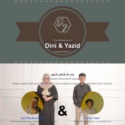 Dini & Yazid Wedding