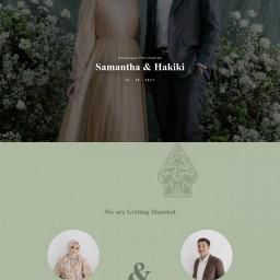 Undangan Pernikahan SAMANTHA & HAKIKI